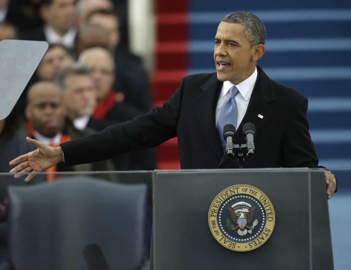 オバマ大統領の第2期目就任式   ...