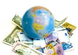 money and globe