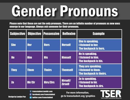 Remake Pronouns 101